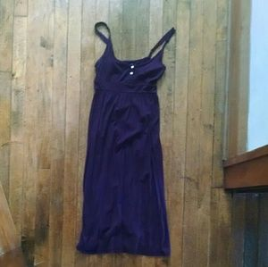 Lucky Brand Purple Maxi Dress